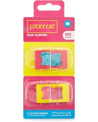 Forever 21 - Lucky Cat Page Markers - Lyst