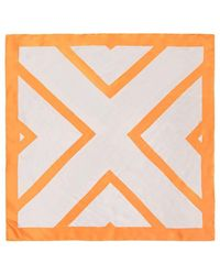 Forever 21 - Satin Geo Square Scarf - Lyst
