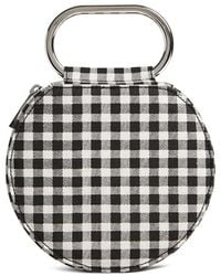 Forever 21 - Round Gingham Clutch - Lyst