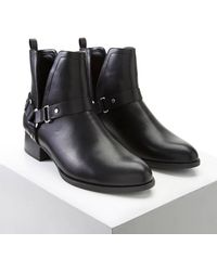 Forever 21 | Faux Leather Ankle Boots | Lyst
