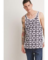 Forever 21 - Abstract Print Tank - Lyst