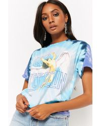 Forever 21 - Led Zeppelin Tie-dye Graphic Tee - Lyst