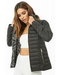 eed8c96f2822 Lyst - Forever 21 Nanette Nanette Lepore Faux Fur Jacket in Black