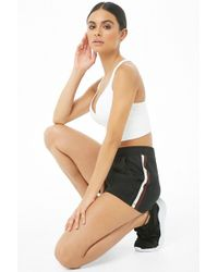 Forever 21 - French Terry Mesh-trim Shorts - Lyst