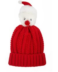 Forever 21 - Santa Pom Pom Knit Beanie - Lyst