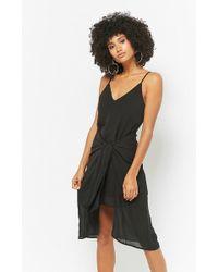 abe929358d82 Lyst - Forever 21 Selfie Leslie Maxi Skirt Romper in Black
