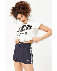 Forever 21 - Women's Cali Graphic Shorts - Lyst