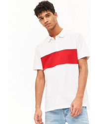 Forever 21 - Broad Stripe Polo - Lyst