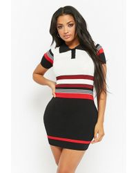 Forever 21 - Striped Polo Dress - Lyst