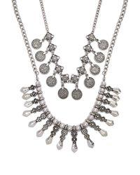 Forever 21 - Women's Burnished Ornate Necklace Set - Lyst