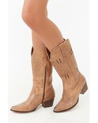 Forever 21 - Wanted Mid-calf Boots - Lyst