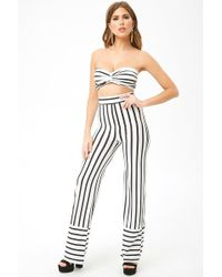 8ae0c72539 Lyst - Dorothy Perkins Bright Blue  lyla  High Waisted Tube Pants in ...