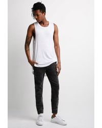 Forever 21 - 's Mineral Wash Jogger Pants - Lyst
