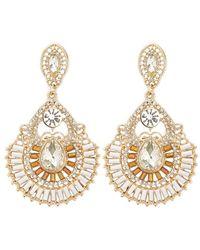 Forever 21 - Ornate Drop Earrings - Lyst