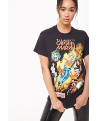 640a6429ced Forever 21 Corvette Graphic Tee in Black - Lyst