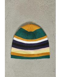 Forever 21 - Men Stripe Fleece Beanie - Lyst