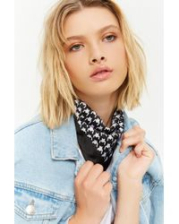 Forever 21 - Houndstooth Square Scarf - Lyst