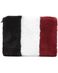 Forever 21 - Plush Colorblock Pouch - Lyst