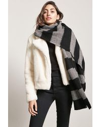 Forever 21 - Brushed Stripe Scarf - Lyst