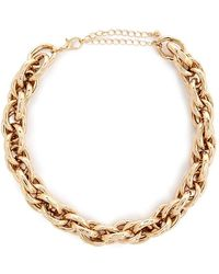 Forever 21 Women's Chunky Cable Chain Necklace