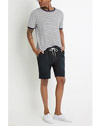 Forever 21 | Drawstring Chino Cutoffs | Lyst