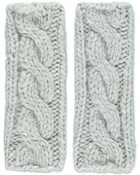 Forever 21 - Cable Knit Fingerless Gloves - Lyst