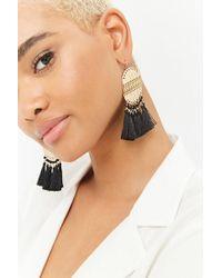 Forever 21 - Tassel Drop Earrings - Lyst