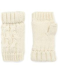 Forever 21 - Cable-knit Fingerless Mittens - Lyst