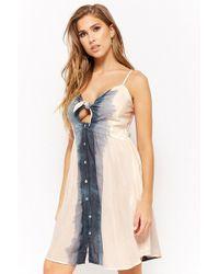 Forever 21 - Boho Me Smocked Ombre Dress - Lyst
