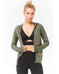 Forever 21 - Active Textured Zip-front Jacket - Lyst