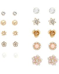 Forever 21 - Assorted Stud Earring Set - Lyst