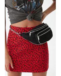 Forever 21 - Studded Belt Bag , Black - Lyst