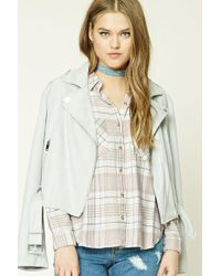 Forever 21 - Women's Check Flannel Shirt - Lyst