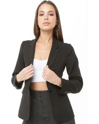 Forever 21 - Women's Notched Collar Blazer - Lyst