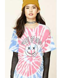 Forever 21   Tie-dye State Of Mind Tee   Lyst