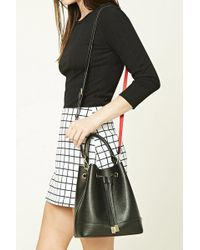 Forever 21 | Faux Leather Bucket Bag | Lyst