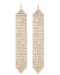 Forever 21 - Rhinestone Duster Earrings - Lyst