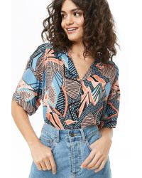 Forever 21 - Tropical Floral Print Shirt - Lyst