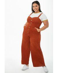 Forever 21 - Women's Plus Size Corduroy Jumpsuit - Lyst