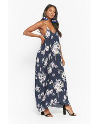 Forever 21 - Floral Print Maxi Cami Dress - Lyst