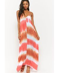 Forever 21 - Tie-dye Maxi Dress - Lyst