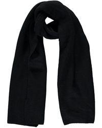 215cf9b1ee420 Forever 21 Men Plaid Open-knit Fringe Scarf in Black - Lyst