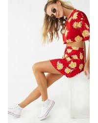 Forever 21 - Motel Sunflower Mini Skirt - Lyst