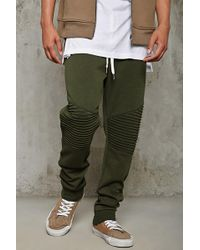 Forever 21 - Pintuck-paneled Joggers - Lyst