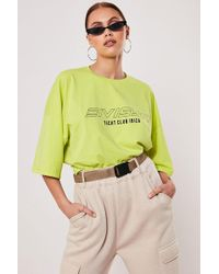 Missguided - Ibiza Graphic Tee At - Lyst