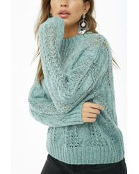Forever 21 - Cable Knit Jumper Sweater - Lyst