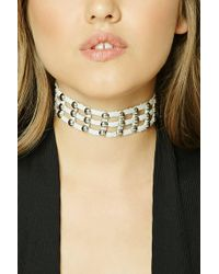 Forever 21 | Studded Cutout Choker | Lyst