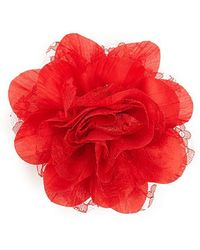 Forever 21 - Lace Flower Pin - Lyst