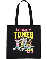 Forever 21 - Looney Tunes Graphic Tote Bag - Lyst