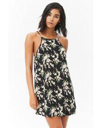 Forever 21 - Floral Mini Shift Dress - Lyst